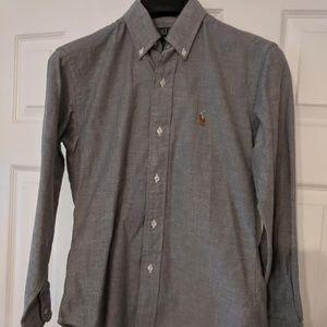 Bundle of 2 Polo size 14 boys button down shirts